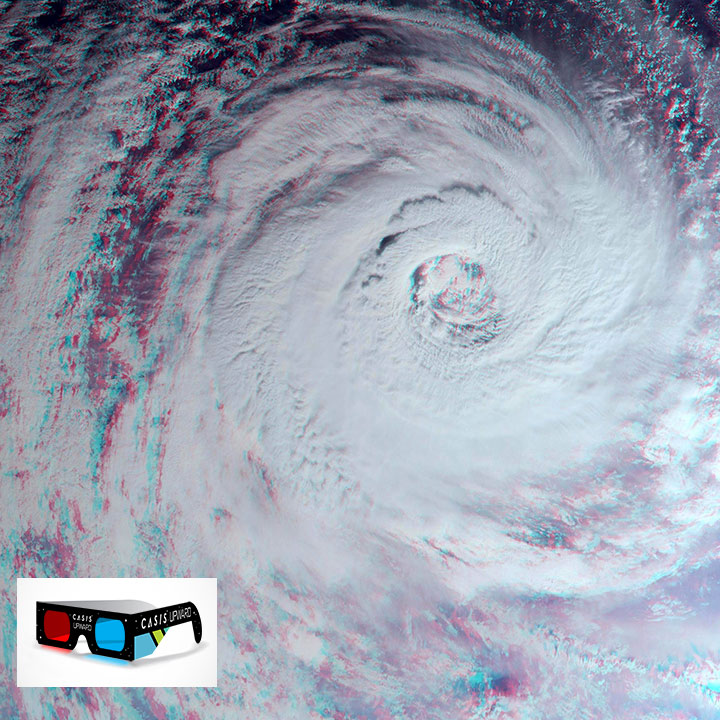 hurricane gita wide view