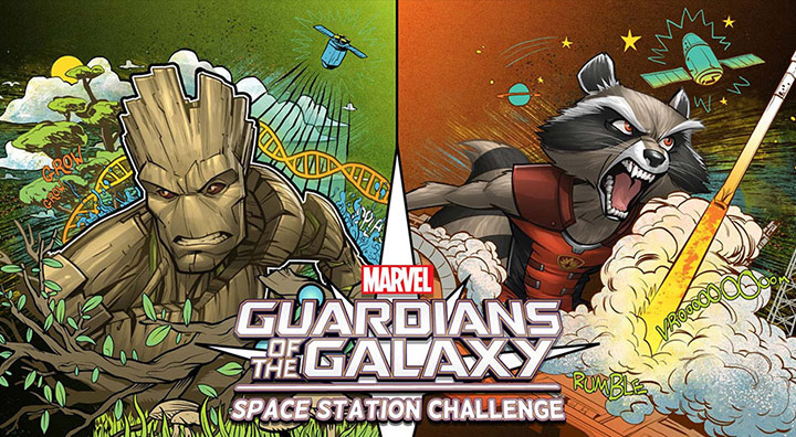 marvel casis space station challenge